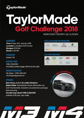 Giải Gôn TaylorMade Golf Challenge 2018
