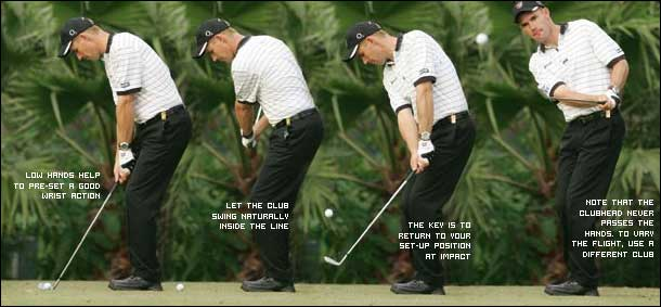 Phương pháp và kỹ thuật chip golf cho người mới chơi