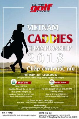 Giải Golf Caddies Vietnam Championship 2018