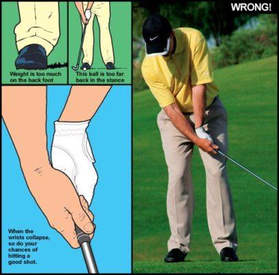 Kỹ thuật và phương pháp tập chipping khi đánh golf