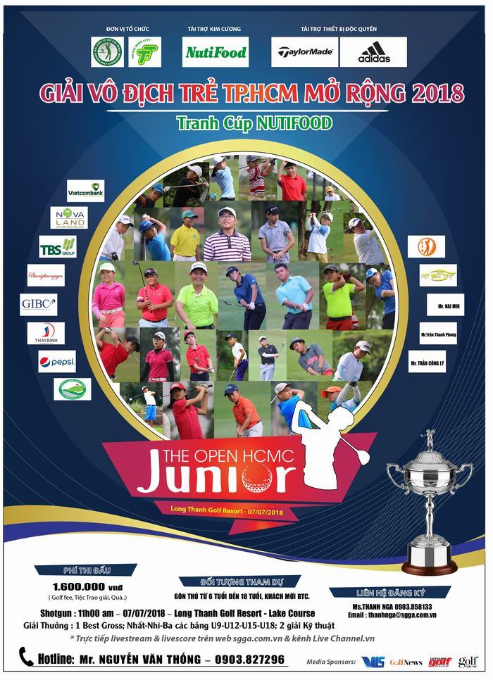 Giải Golf Vô địch Trẻ TPHCM Mở Rộng 2018