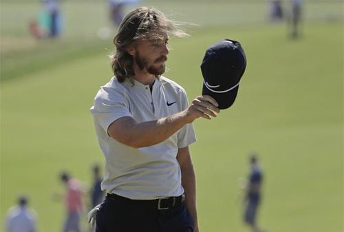 Fleetwood không vô địch, nhưng vẫn có vòng golf để đời. Ảnh: AP.