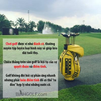 Lợi ích hay tác dụng của việc chơi golf là gì?
