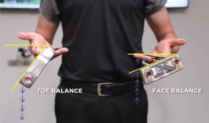 Cách chọn putter và kĩ thuật gạt bóng