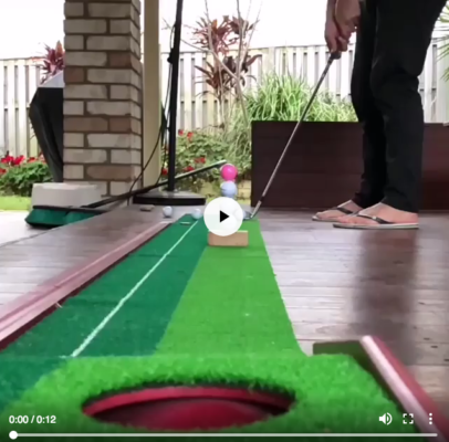 Kỹ thuật putting golf rất nghệ thuật & chính xác!