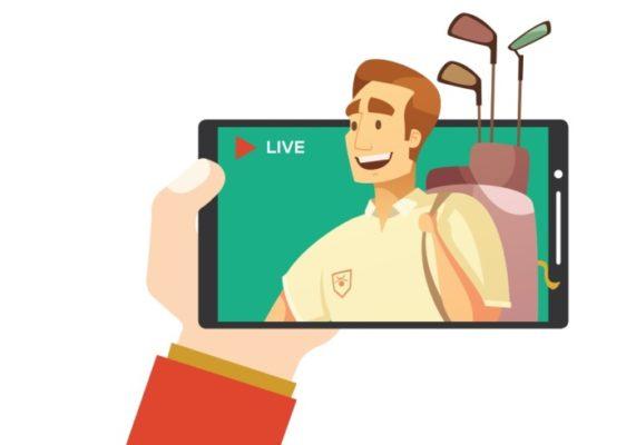Những thách thức xu thế livestream khi làm truyền thông golf