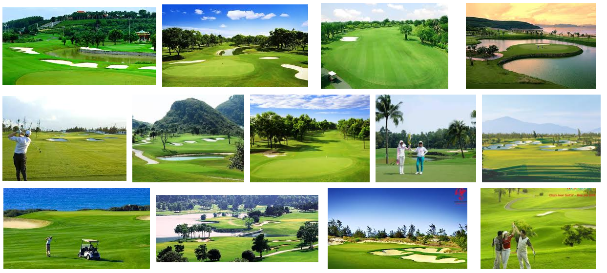 Danh sách sân golf tại Việt Nam