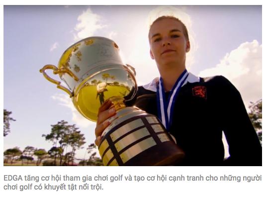 Bộ phim về golf để truyền cảm hứng cho người chơi khuyết tật