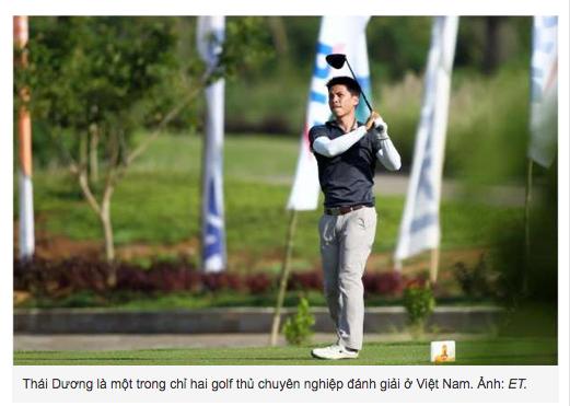Học viện golf Hà Nội và giấc mơ chuyên nghiệp
