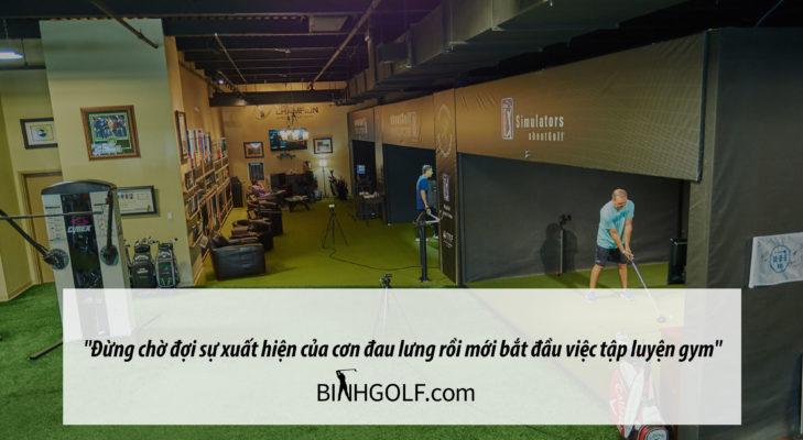 Các bài tập gym bổ trợ cho người chơi golf