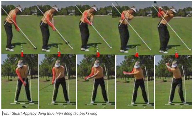 Backswing là gì? Downswing là gì? Backspin là gì? Followthrough là gì?