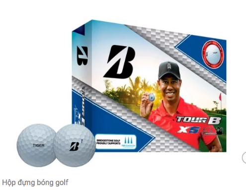 Bridgestone ra bóng (banh) golf phiên bản Tiger Woods