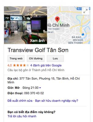 Transview Golf Tân Sơn