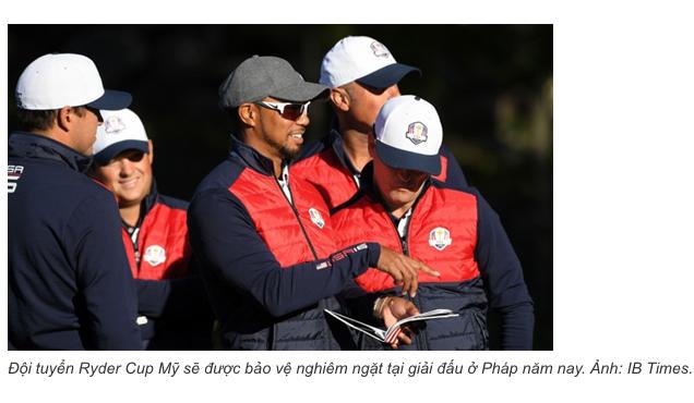 Tên lửa phòng không bảo vệ các golfer ở Ryder Cup 2018