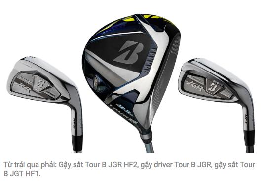 Gậy Golf Nhật Bản Bridgestone giới thiệu phiên bản Tour B JGR mới với nhiều cải tiến