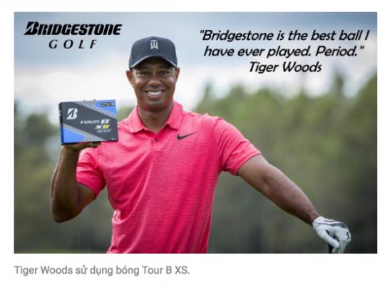 Bóng Golf BRIDGESTONE có gì nổi trội?