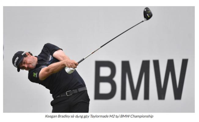 Túi gậy của Keegan Bradley đánh Gậy Golf Gì tại BMW Championship 2018?