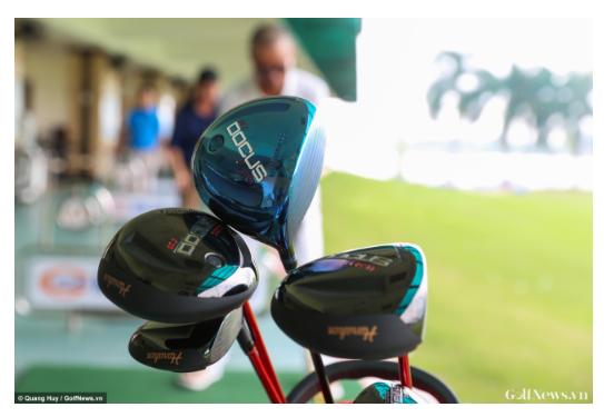 Gậy Golf Nhật Bản Docus Demo Day Tại Sân Tập Golf HimLam