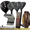 Gậy Golf Nhật Bản Docus Model 701 Đen Huyền Thoại