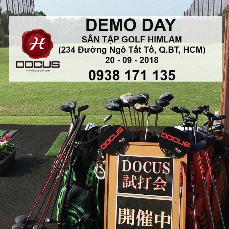 Gậy Golf Nhật Bản Docus Demo Day