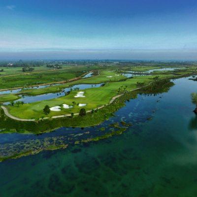Sân Golf Long An West Lakes Golf & Villas chính thức mở cửa 1.10.2018