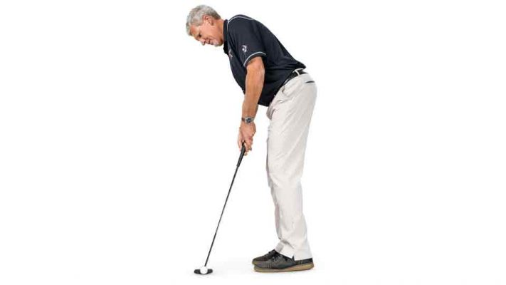 Cách chuẩn bị gạt (putt) bóng gôn (golf) hiệu quả
