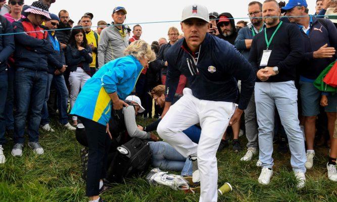 Sự nguy hiểm khi xem các giải golf trực tiếp tại sân golf