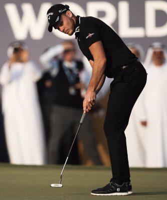 Danny Willett dùng gậy putter bí ẩn khi chiến thắng DP World Tour Championship