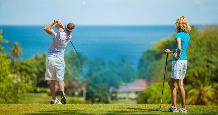 Nguyên nhân đau bả vai khi chơi golf và cách khắc phục