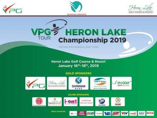 Trực tiếp livestream Vòng 2 của Giải Heron Lake Championship 2019