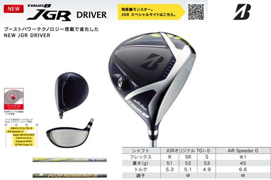 Gậy Golf Bridgestone Driver Tour B JGR 2019