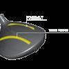 Gậy Golf Bridgestone Driver Tour B JGR 2019 Power Slit copy