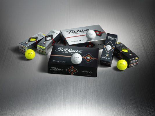 Bóng Golf Titleist Pro V1 và Pro V1x phiên bản 2019 sắp ra mắt