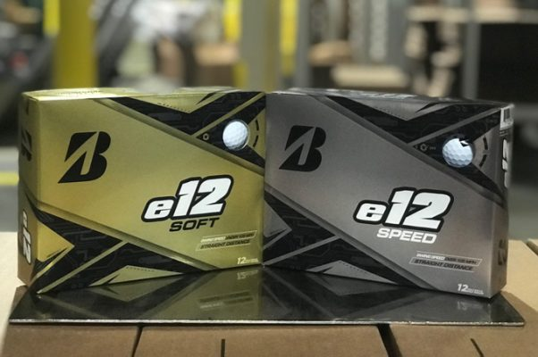 Bóng golf Brigestone có bóng E12 Solf Và E12 Speed hợp golfer nghiệp dư