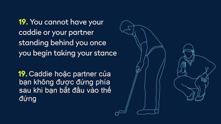 Luật Golf 2019 Song Ngữ Anh Việt Những Điều Cần Lưu Ý Cho Các Golfer