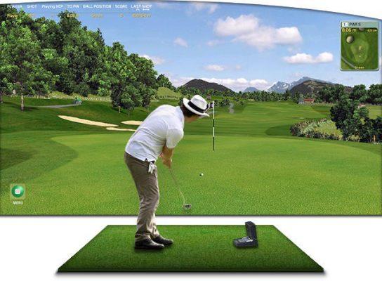 Giá phòng tập chơi golf 3d trong nhà bao nhiêu? I BinhGolf.com