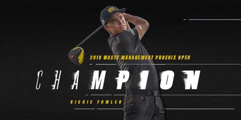 Bộ gậy golf Cobra King F9 giúp Rickie Fowler vô địch Waste Management Phoenix Open 2019