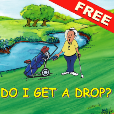 Golfer được thoát luật golf free drop nhờ cá sấu