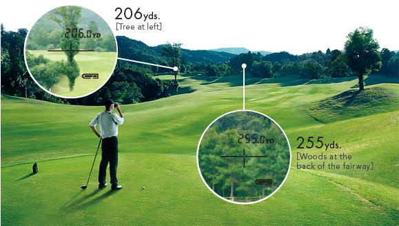 Những công dụng không thể bỏ qua của ống nhòm đo khoảng cách golf