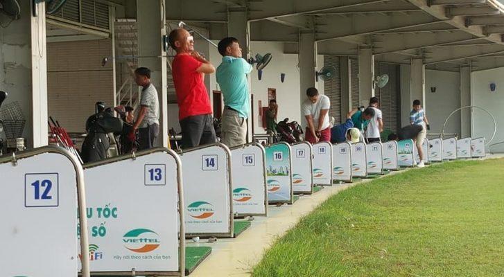 Học Đánh Golf Ở Sân Tập Gôn Sonadezi Golf Driving Range Biên Hoà