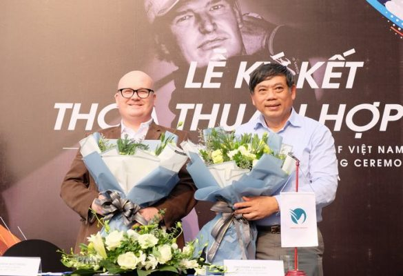 Hiệp hội golf Việt Nam và Học viện EPGA ký kết thỏa thuận hợp tác phát triển golf Việt Nam