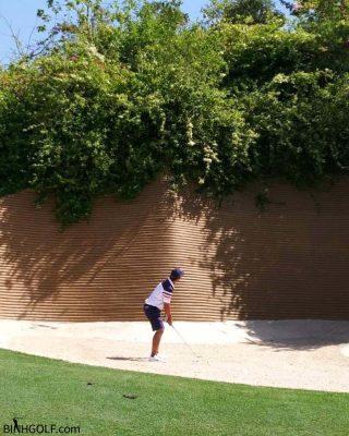 Cách đơn giản để kiểm tra kỹ thuật gạt (putting) bóng golf của bản thân