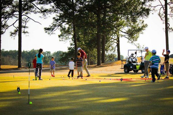 Khoá học chơi golf cho trẻ em ở Phú Mỹ Hưng Quận 7 TP HCM