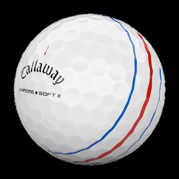 Bóng Golf Callaway Chrome Soft X with Triple Track