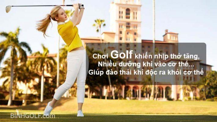 Chơi golf để giảm cân hiệu quả