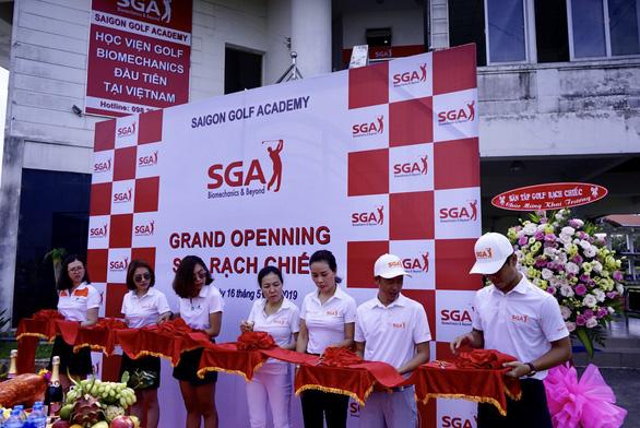 Học Viện Golf SGA Biomechanics Ở Sân Tập Golf Rạch Chiếc TP HCM