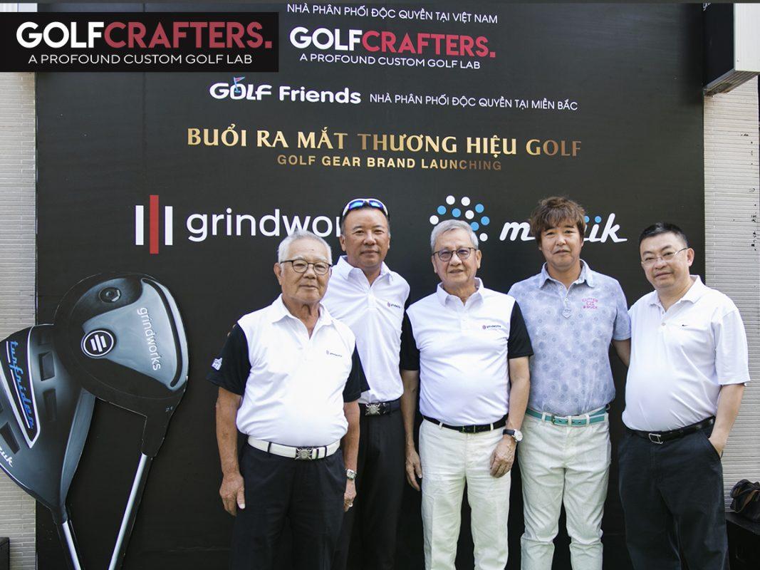 GolfCrafters Ra Mắt Thương Hiệu Golf Nhật Bản Grindworks Và Muziik Tại Việt Nam