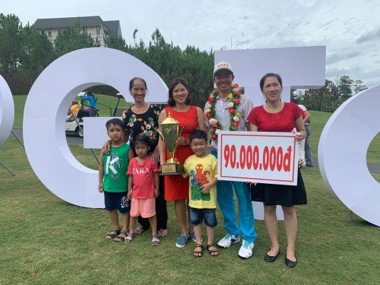 Golfer Nguyễn Gia Quân lần đầu vô địch VPG Tour