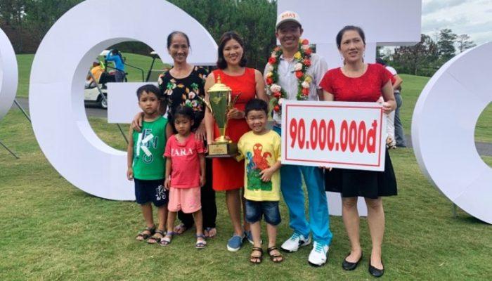 Golfer Lê Hữu Giang sụp đổ vòng cuối, Nguyễn Gia Quân lần đầu tiên vô địch VPG TOUR
