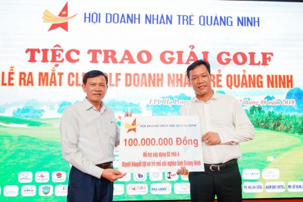Giải golf ra mắt CLB golf Doanh nhân trẻ Quảng Ninh